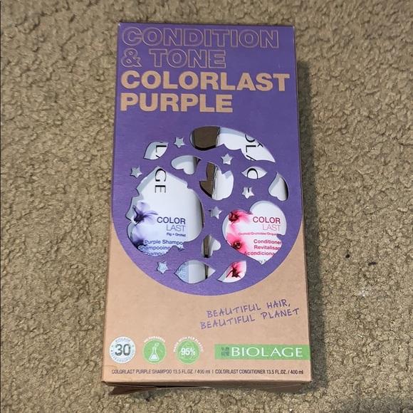 Biolage colorlast purple shampoo and conditioner